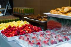 Breakfast Catering Stationary Spread