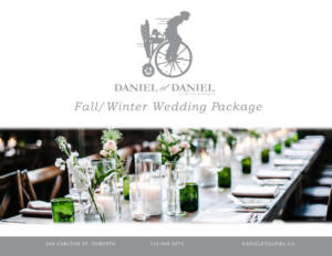 thumbnail of Wedding Catering Package for Fall & Winter Sample Menu