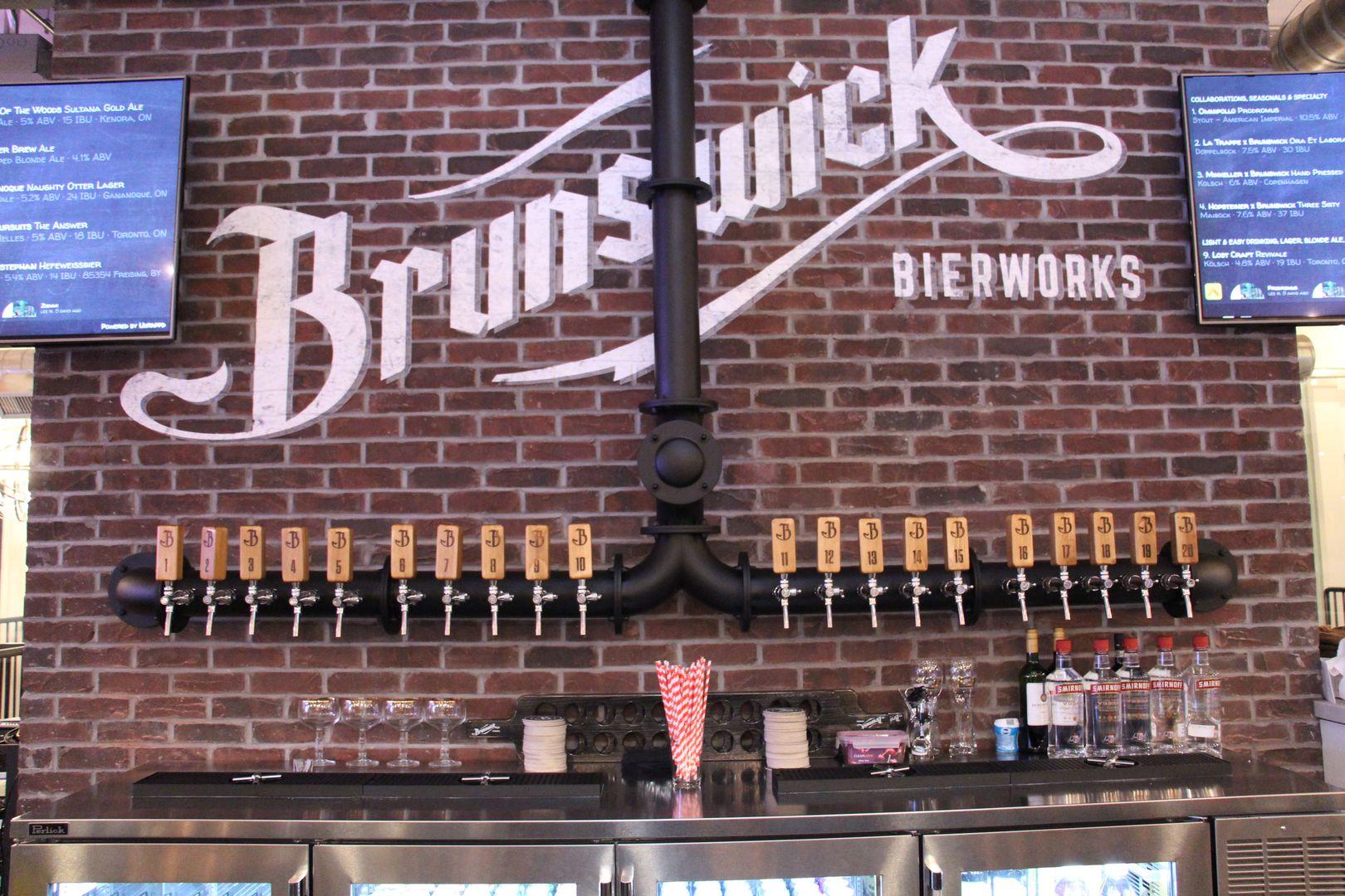 Brunswick Bierworks, Beer Taps