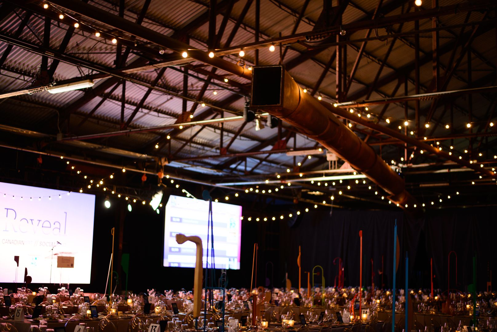 Table Setting at Evergreen Brick Works