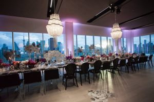 The Globe and Mail Centre, Wedding Catering Table Scape, Toronto Venue