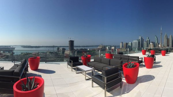 Toronto Venue, Roof Top Patio, The Globe and Mail Centre