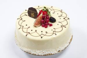 Best Cake in Toronto, White Chocolate Mouse