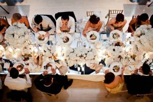 Table Scape, White Wedding, Ikonica