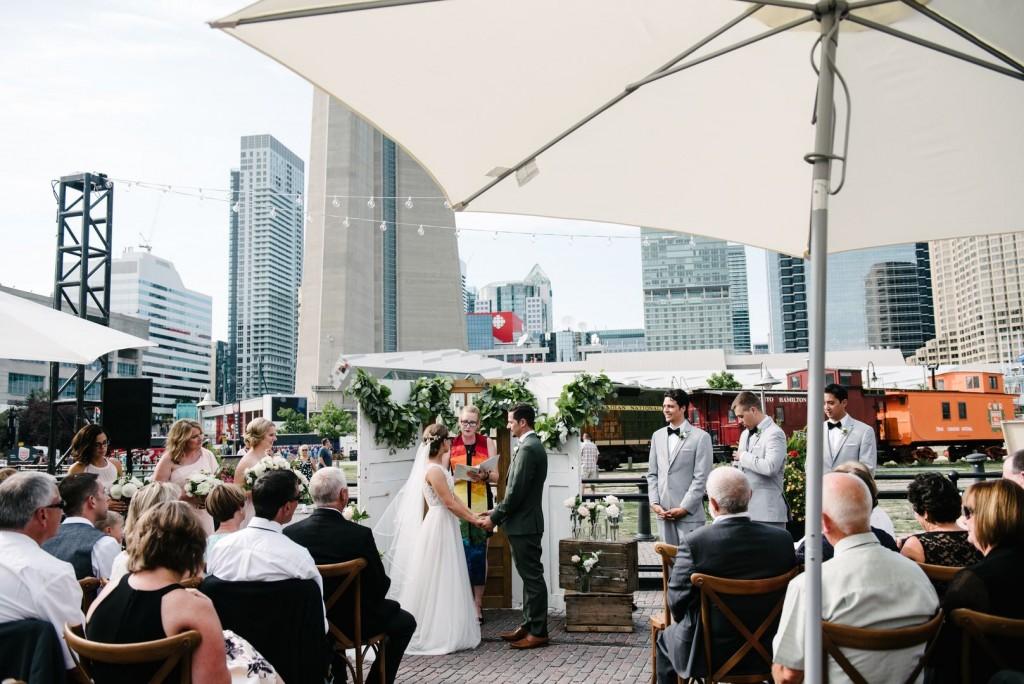 Outdoor Wedding Toront