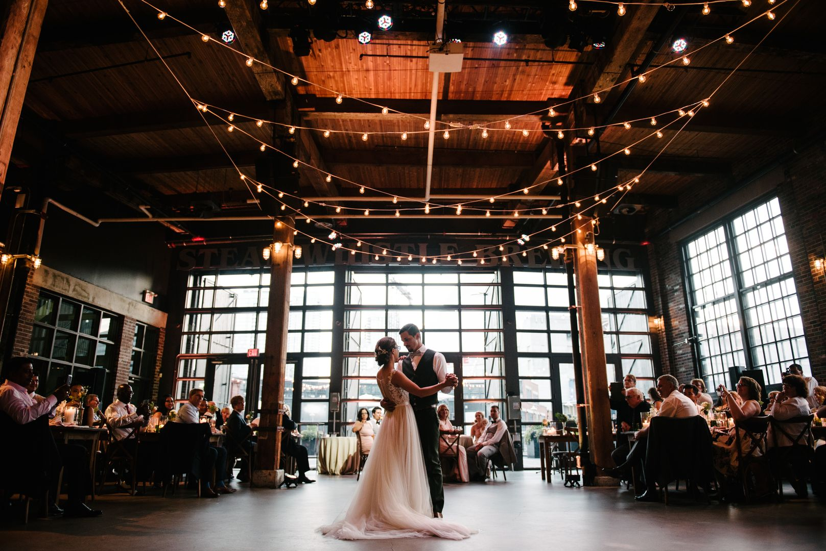 Our Sous-Chef's Toronto Wedding at Steam Whistle Brewing