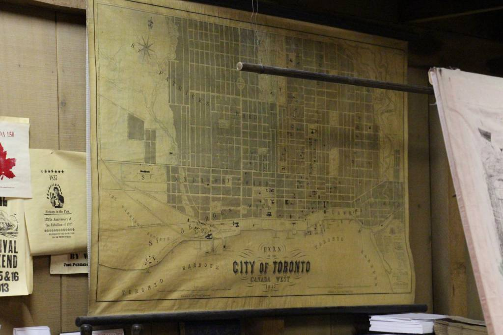 Map of Toronto, Antique