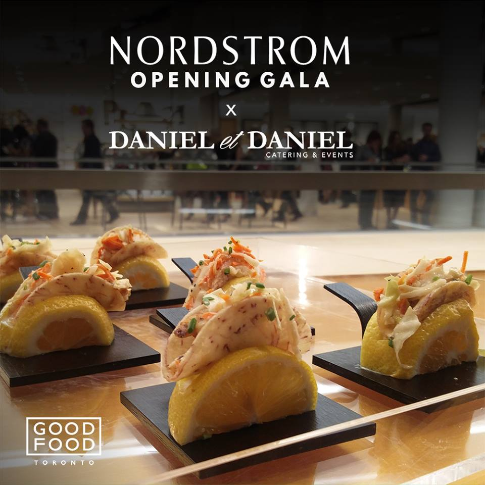 Nordstom Yorkdale Opening Gala with Daniel et Daniel