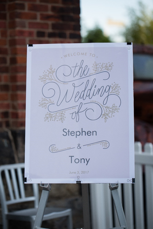 Stephen and Tony's Toronto wedding image1