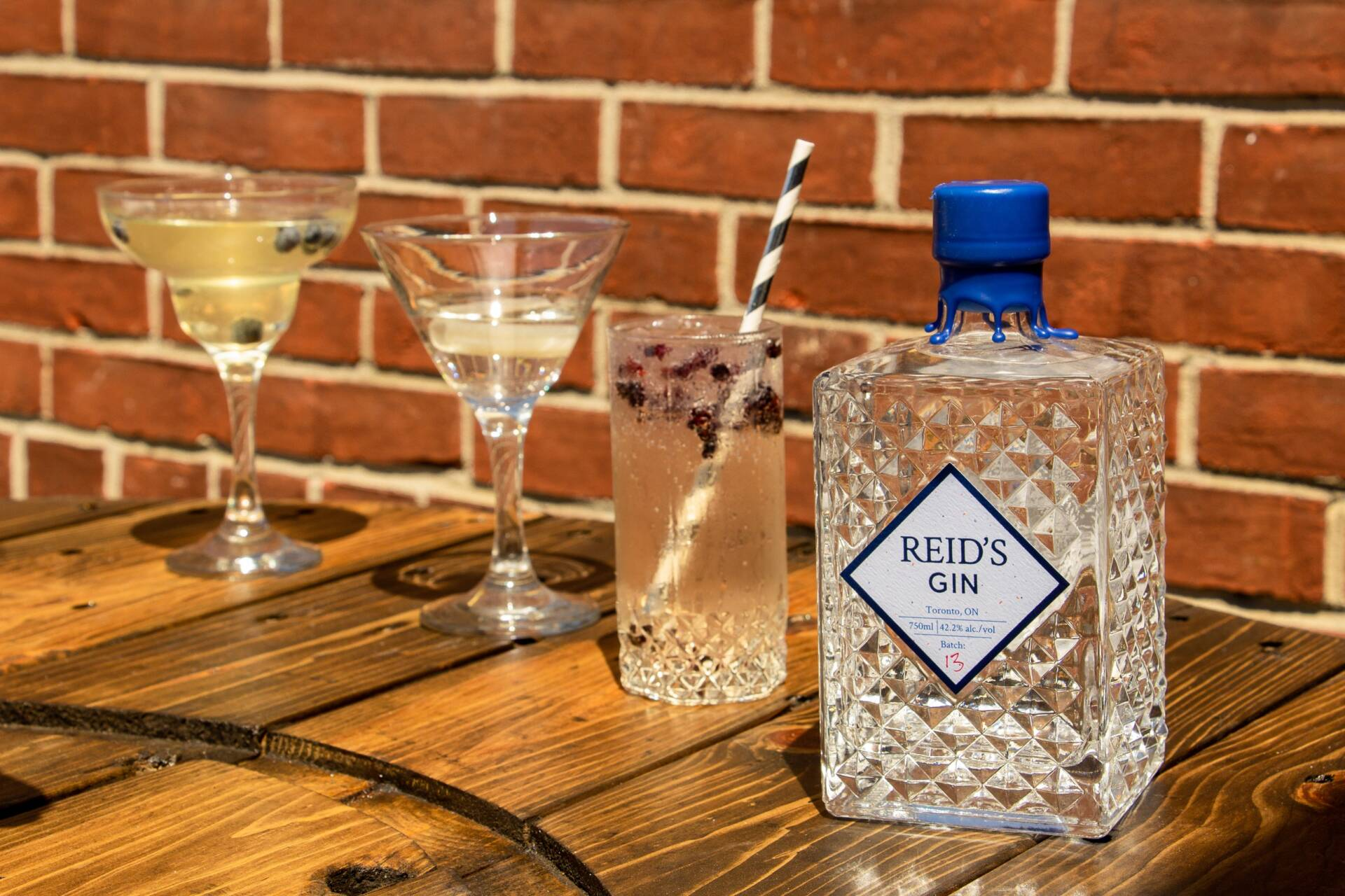 Canadian Inspired Cocktails with Reid's Distillery Gin!