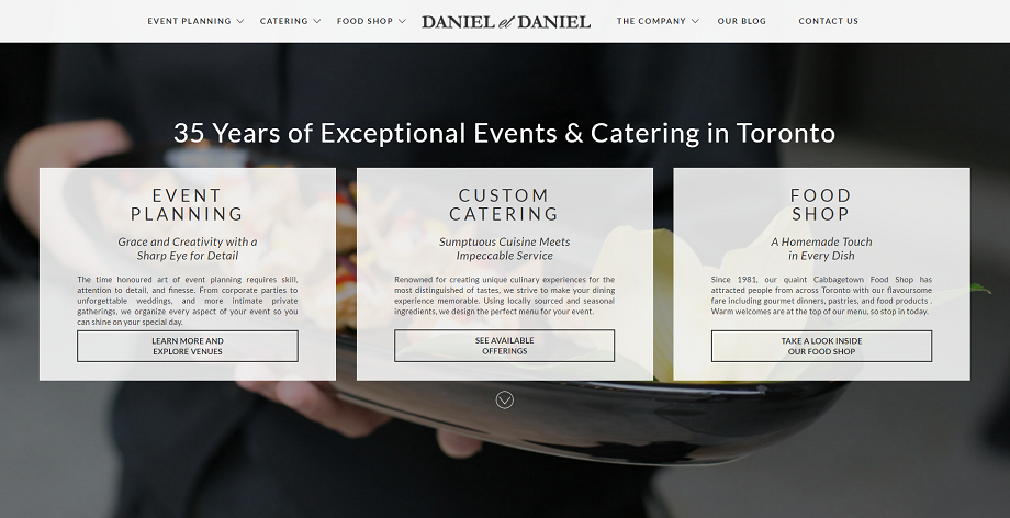 catering toronto