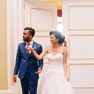South Indian Fusion Wedding